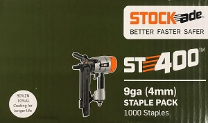 "StockAde 1 3/4"""" SS4p45 Staple Pack"